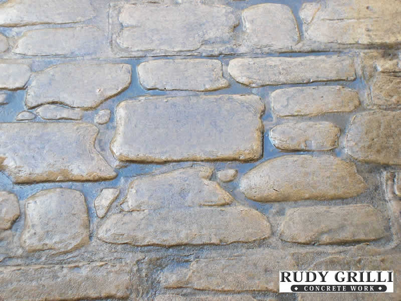 Rudy Grilli Concrete Work Stamped Decorative Patterns NJ