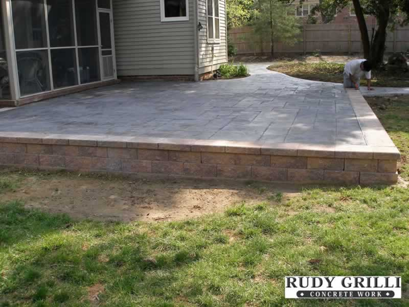 Raised Patio ...