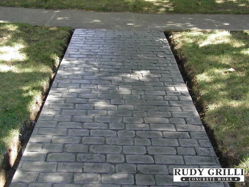Rudy Grilli Concrete Work Stamped Decorative Concrete
